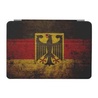 Black Grunge Germany Flag iPad Mini Cover