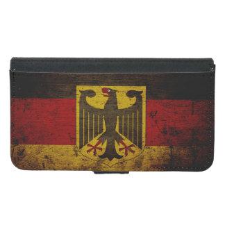 Black Grunge Germany Flag Samsung Galaxy S5 Wallet Case