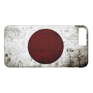 Black Grunge Japan Flag iPhone 8 Plus/7 Plus Case