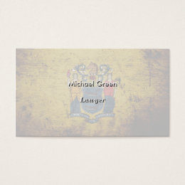 New jersey business cards business card printing zazzle uk black grunge new jersey state flag business card reheart Images
