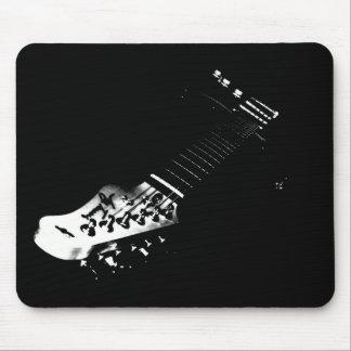 Black Guitar Mousepad