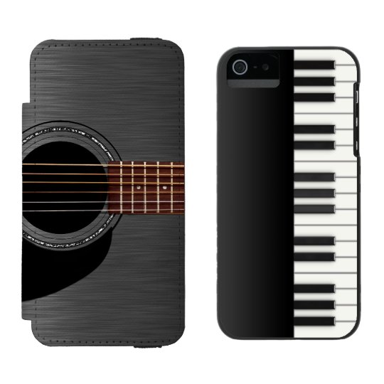 Black Guitar Piano Combo Incipio Watson™ iPhone 5