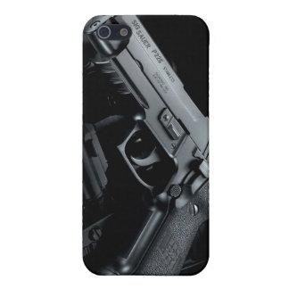 black gun iPhone 5 cover