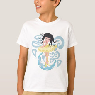 Black Hair Ballerina Tshirts and Gifts