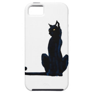 black halloween cat tough iPhone 5 case