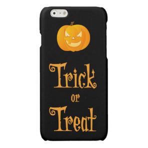 Black Halloween iPhone 6 Cases Trick Or Treat