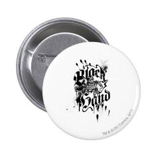 Black Hand - Collage 6 Cm Round Badge