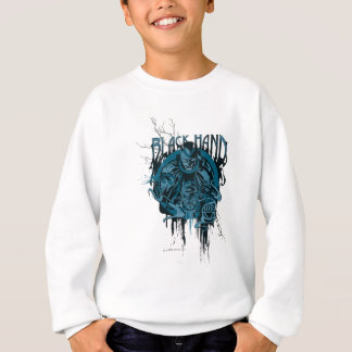 Black Hand - Graphic Collage Sweatshirt