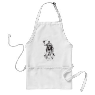 Black Hand with Skull 3 Aprons