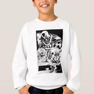 Black Hand with Skull Panel 2 Sweatshirt