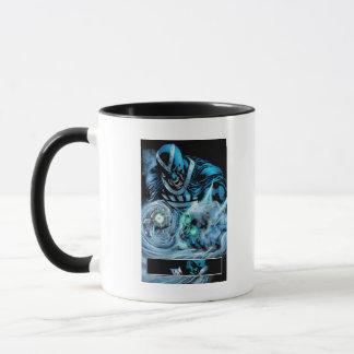 Black Hand with Skull Panel Mug