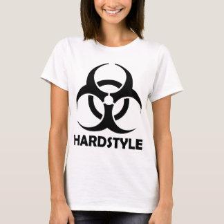black hardstyle tribal T-Shirt
