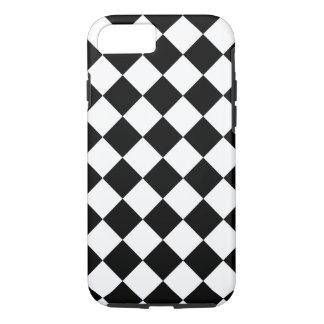 Black Harlequin Classic Diamonds iPhone 8/7 Case