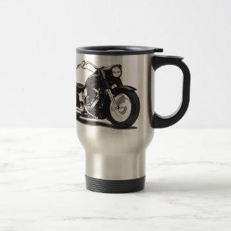 Black Harley motorcycle 15 Oz Stainless Steel Travel Mug