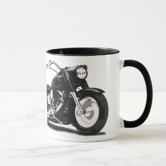 Black Harley motorcycle Mug