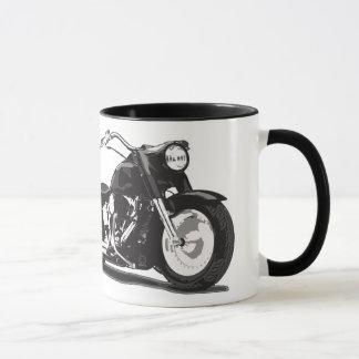 Black Harley motorcycle Mug