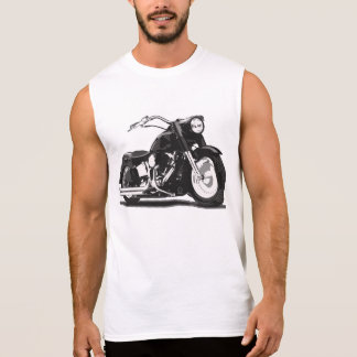 Black Harley motorcycle Sleeveless Shirt