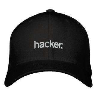 Black Hat hacker. Embroidered Baseball Cap