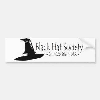 Black Hat Society Bumper Stickers