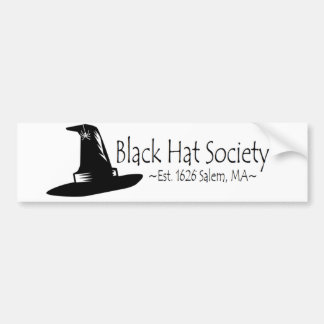 Black Hat Society Bumper Stickers