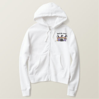 Black Hat Society Embroidered Hoodie