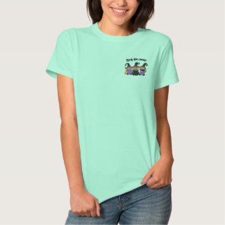 Black Hat Society Embroidered Shirt