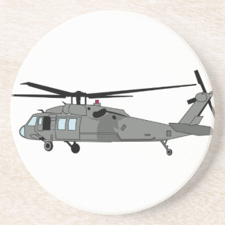 Black Hawk Helicopter Coasters