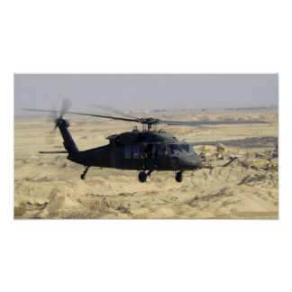 Black hawk Helicopter Posters