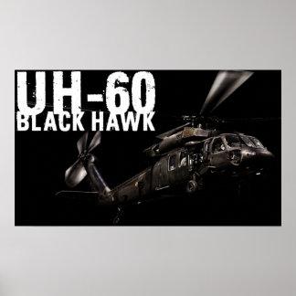 Black Hawk Poster