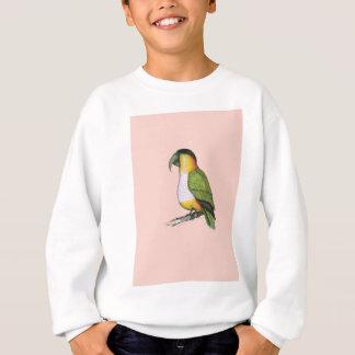black headed caique.tif sweatshirt