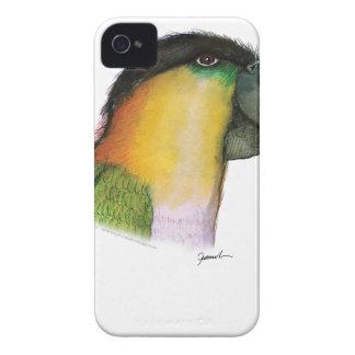 black headed caique, tony fernandes iPhone 4 cover