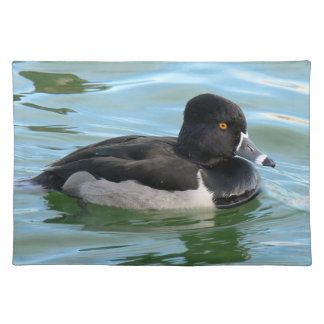 Black Headed Ring-necked sea diving duck Ringbill Placemat