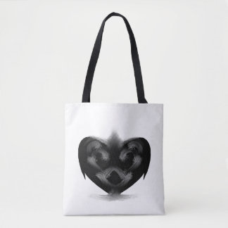 Black Heart Bag