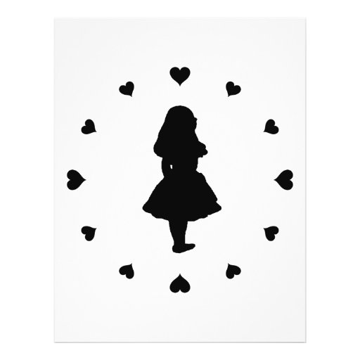 Black Hearts Around Alice Flyers