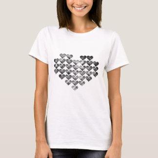 Black hearts. T-Shirt