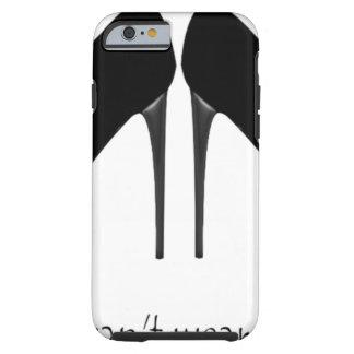 Black Heels Tough iPhone 6 Case