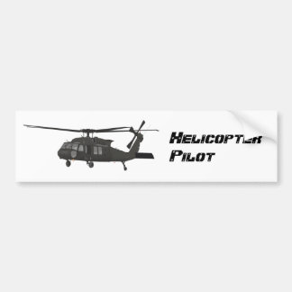 Black Helicopter Sticker
