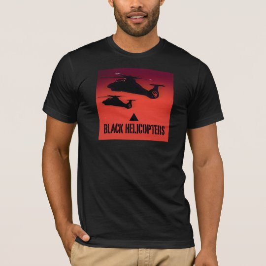Black Helicopters T-Shirt