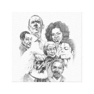 Black Heritage Canvas Prints