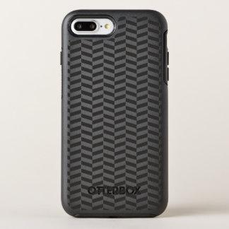 Black Herringbone OtterBox Symmetry iPhone 7 Plus Case
