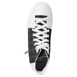 BLACK HEX HIGH TOP SHOE PRINTED SHOES