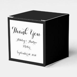 Black High End Colored Favour Box