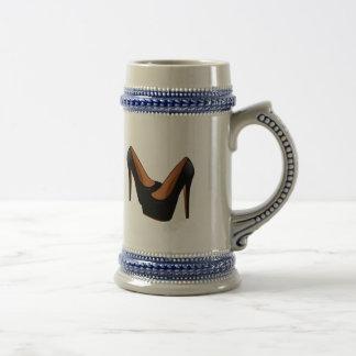 Black High Heels Coffee Mugs