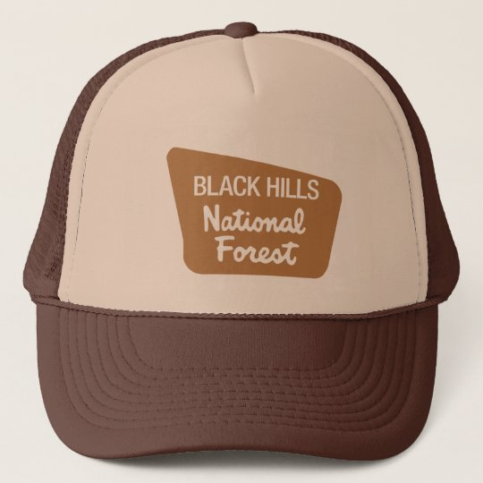 Black Hills National Forest (Sign) Cap