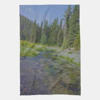 Black Hills Serenity Landscape Kitchen Towel
