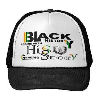 Black History - hiS-Story© Hat-Blk Cap