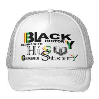 Black History - hiS-Story© Hat-White Cap