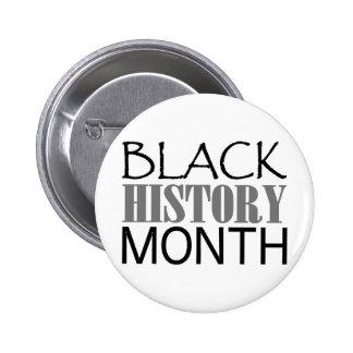 Black History Month 6 Cm Round Badge