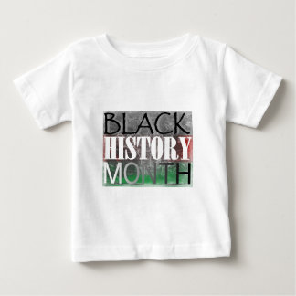 Black History Month (African Flag) Baby T-Shirt