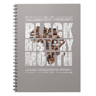 Black History Month African Roots. Spiral Notebook